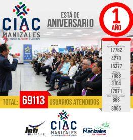 1 año CIAC Manizales