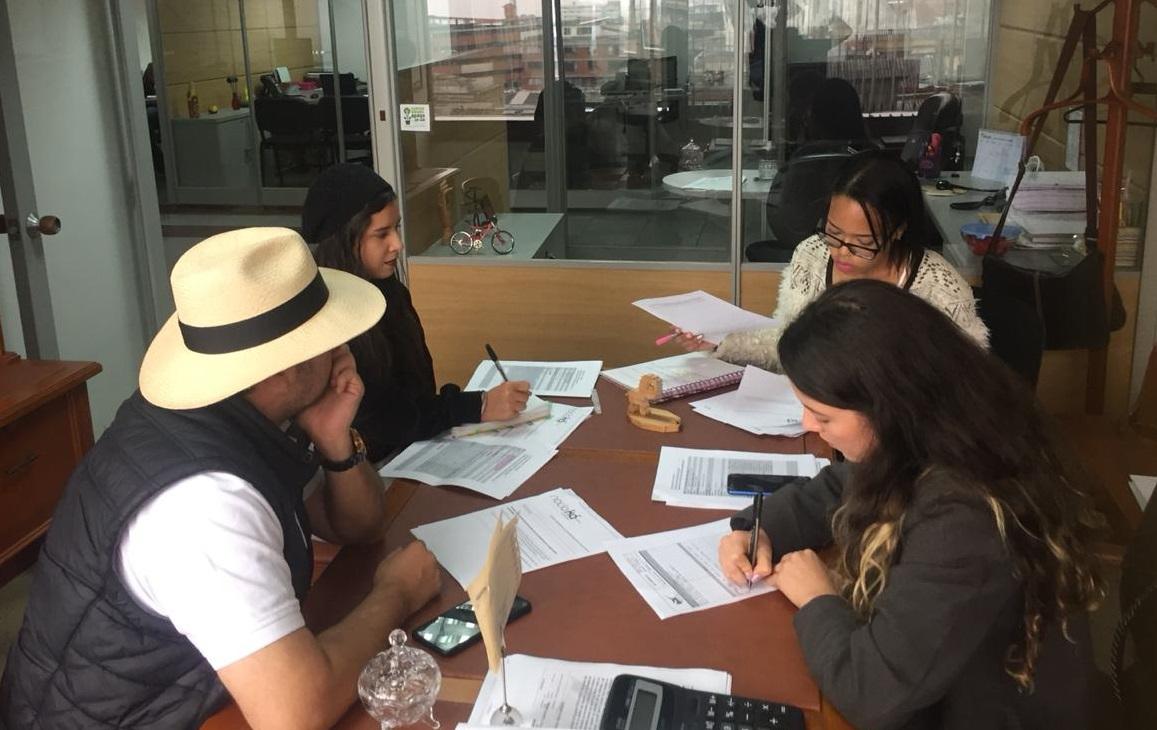 Estudiantes UAM, reunidas con Desarrollo Rural
